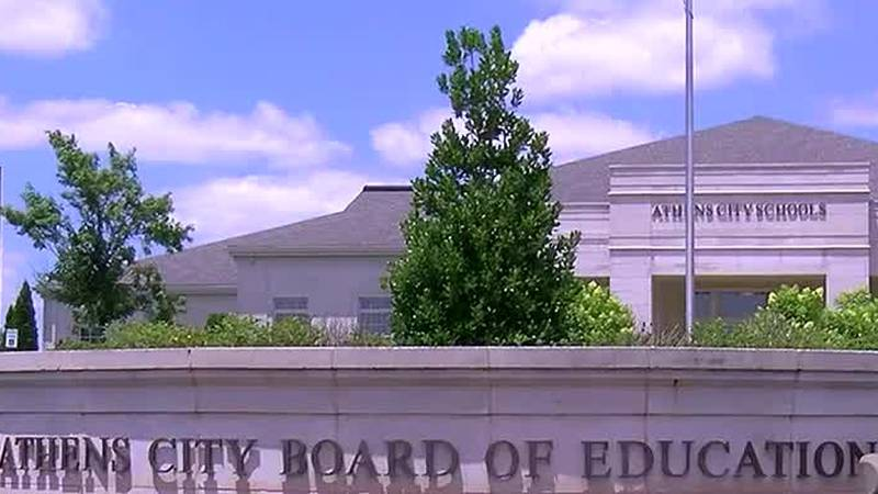 The Athens City Schools Superintendent is recommending students wear masks when they return to...