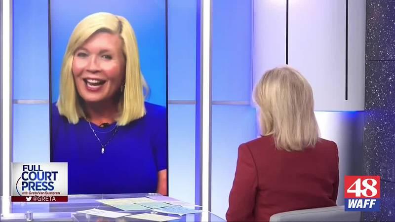 Liz Hurley speaks to Greta Van Susteren on Huntsville's role in space travel