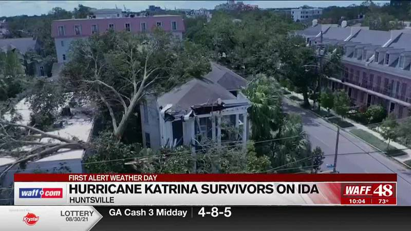 Hurricane Ida survivors talk Ida