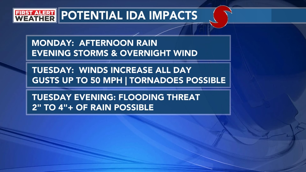 Ida Impacts