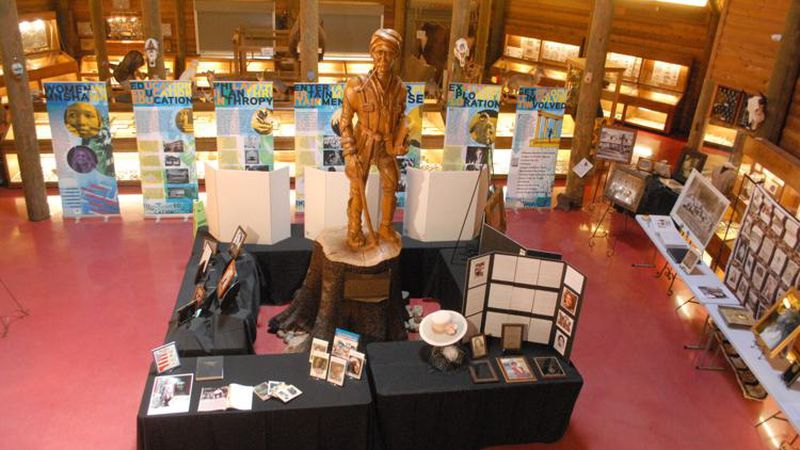 A traveling exhibit provided by the Muscle Shoals National Heritage Area will accompany local...