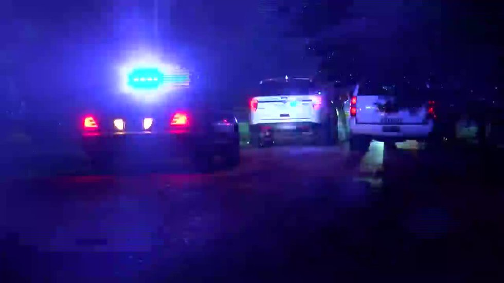 Scene of fatal overnight shooting in Toney