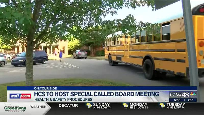 HCS to host special called board meeting