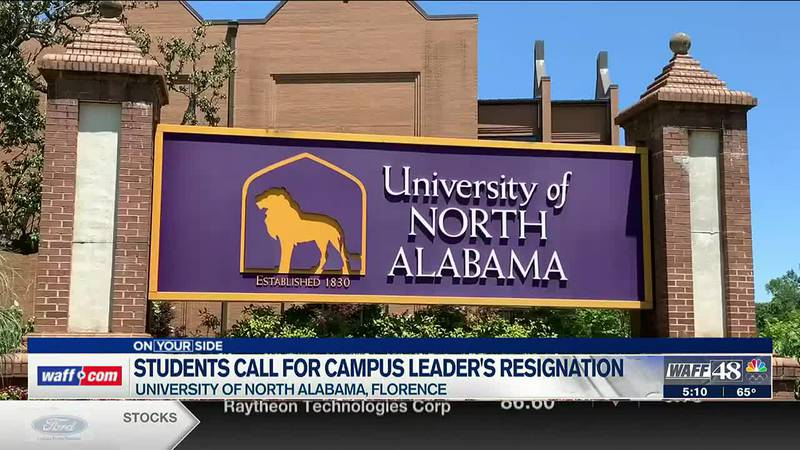 UNA students call for campus leader's resignation