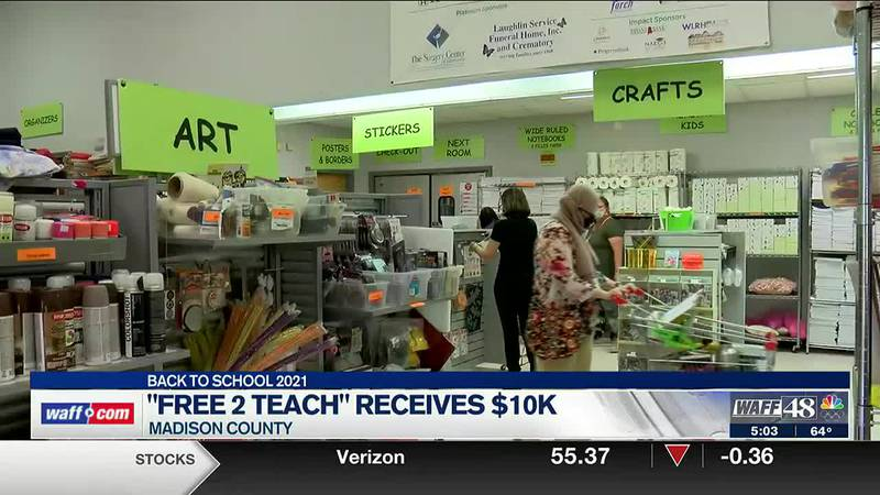 'Free 2 Teach' receives $10K from Madison County Commission