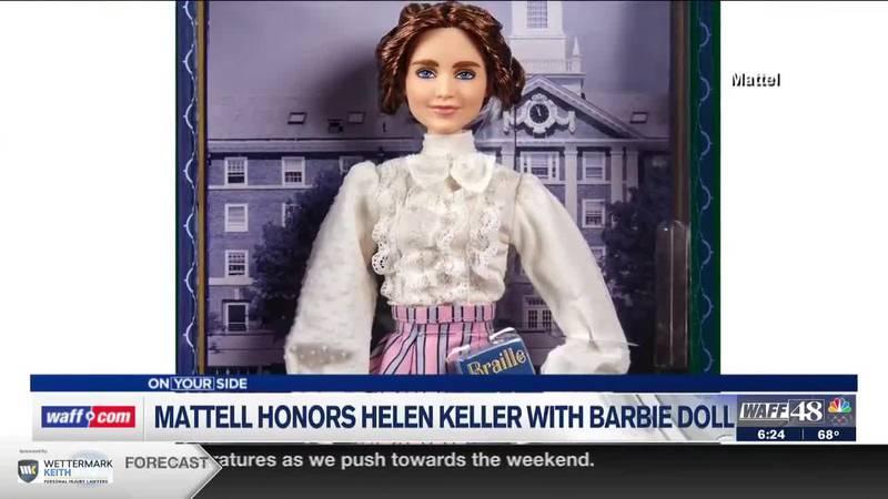 Helen Keller Barbie Doll