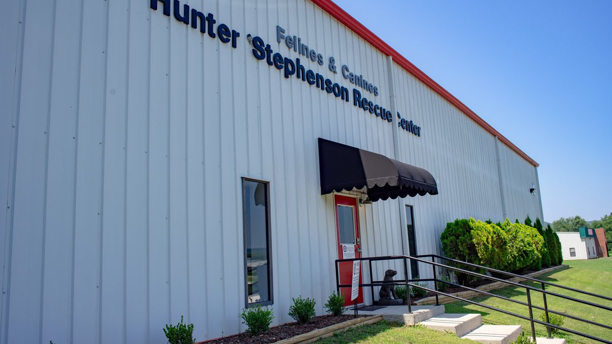 Less than eight weeks after opening their doors, the Hunter Stephenson Rescue Center in Owens...