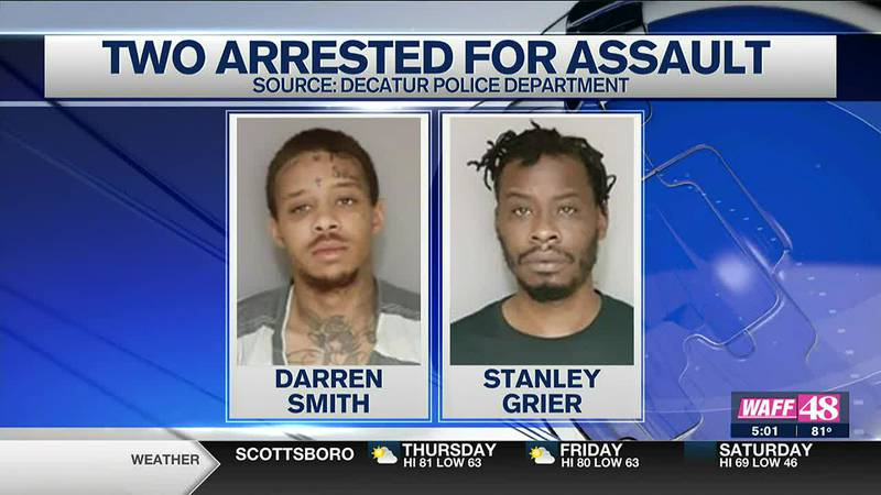 Two arrested on assault charges