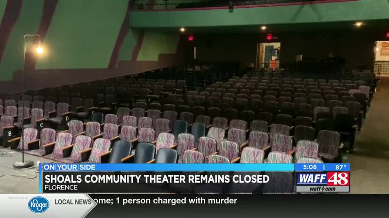 Shoals Community Theater remains closed