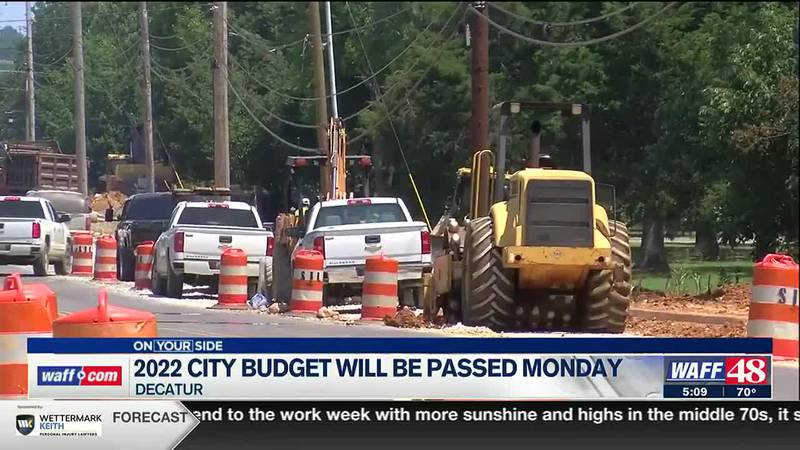 2022 city budget will be passed on Monday