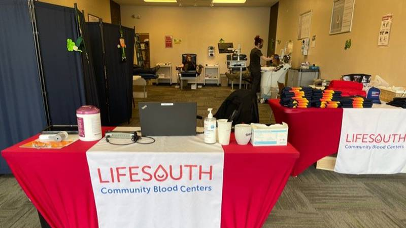 LifeSouth Community Blood Centers announced the opening of a temporary pop-up location in...