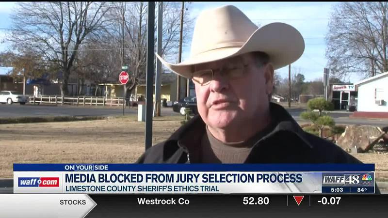 Media blocked from jury selection process