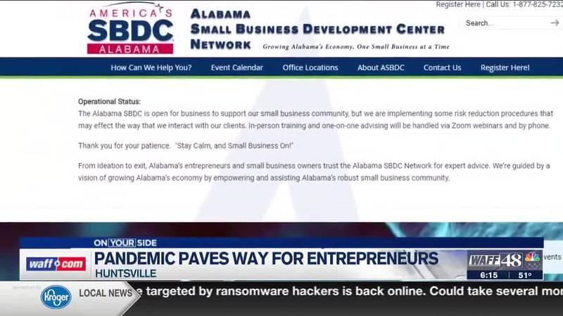 Pandemic paves way for entrepreneurs