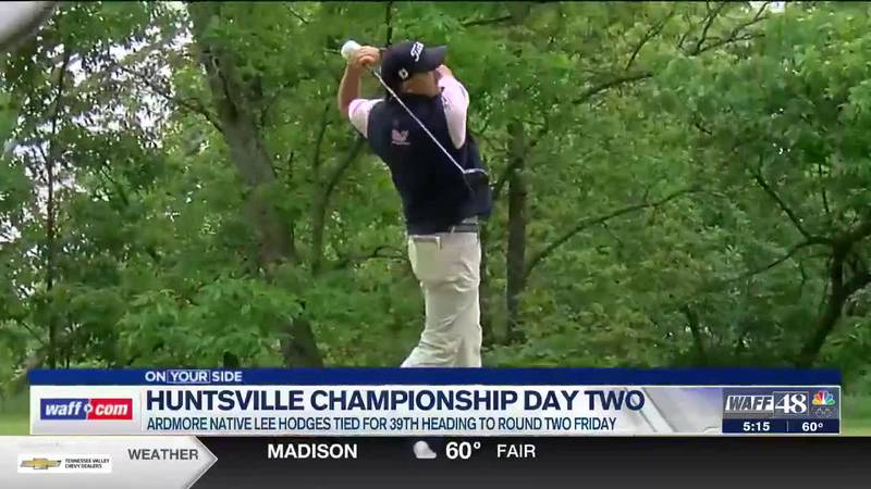Day two begins at the Huntsville Championship