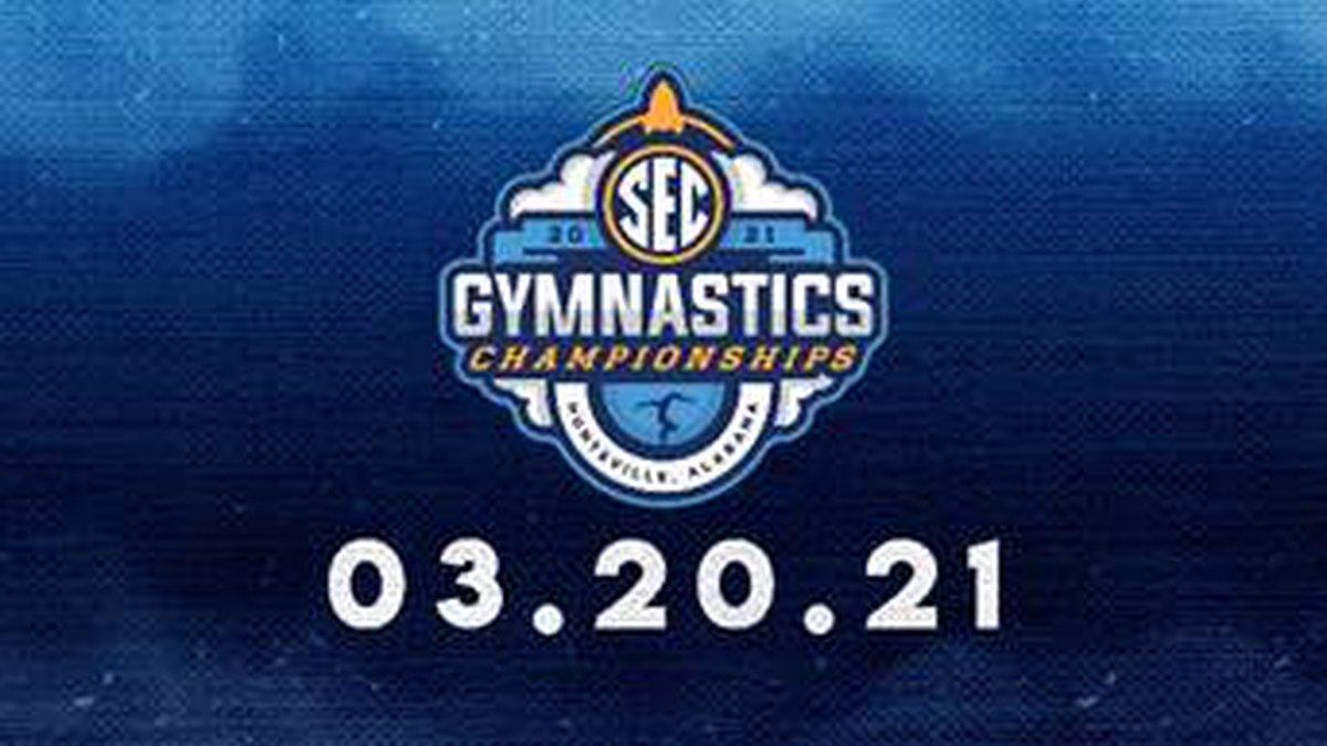 The SEC Gymnastics Championships begins March 20 in Huntsville at the Von Braun Center