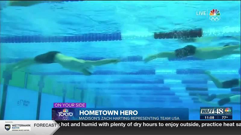 Hometown Hero: Zach Harting representing north Alabama and Team USA at the Toyko Summer Olympics