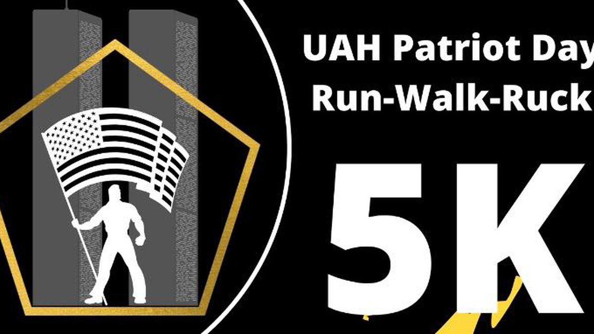 UAH will hold the Patriot Day 5K Race to commemorate 20 years since the 9/11 attacks.