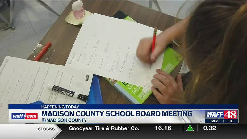 No plans to discuss mask mandate at next Madison County School Board meeting