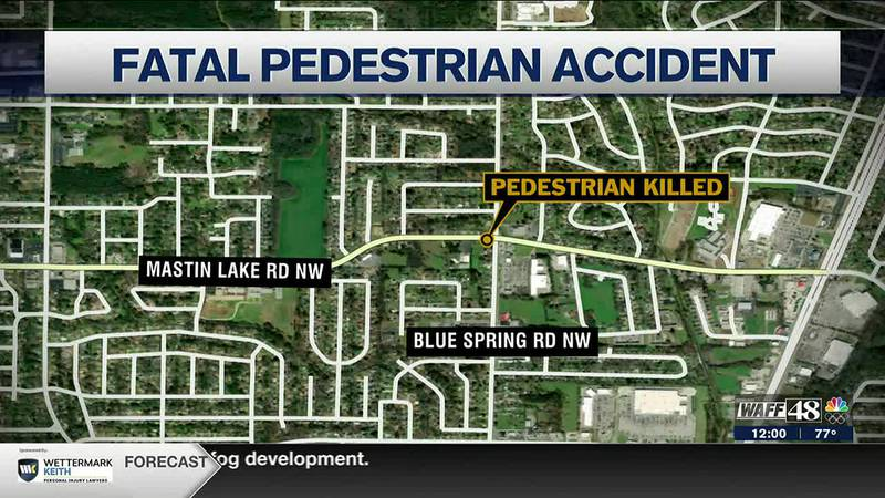 Fatal accident on Mastin Lake Road