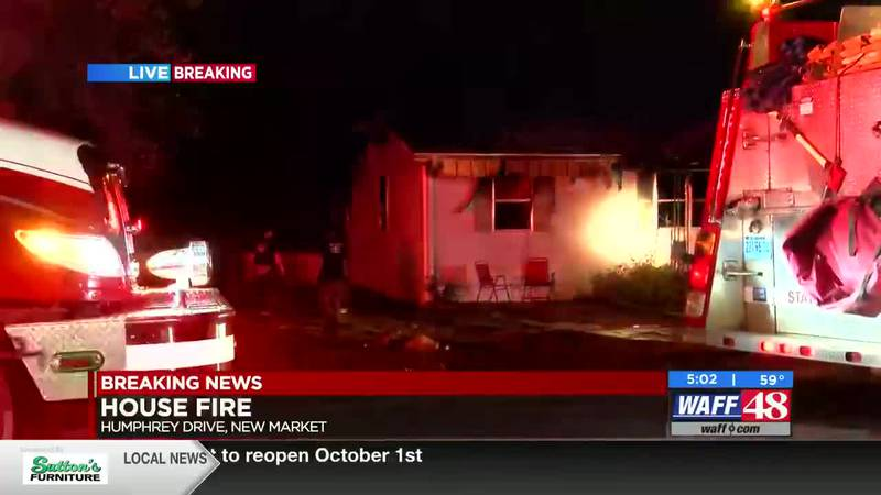 The latest on an overnight house fire in New Market