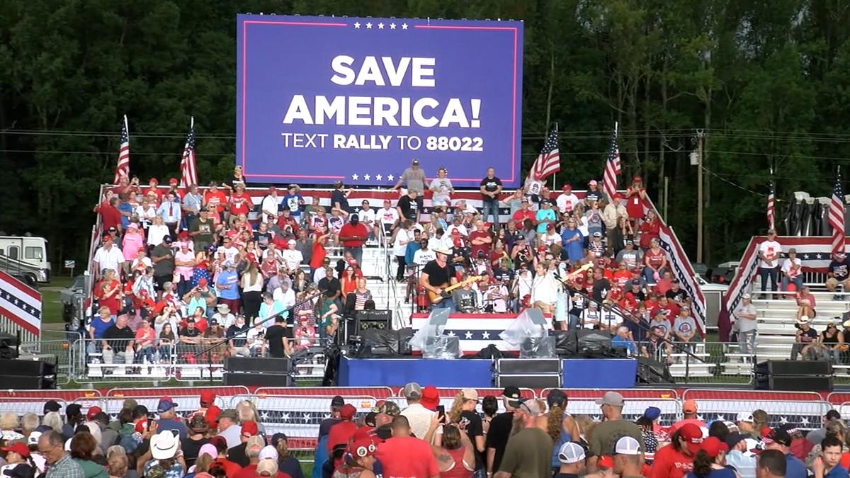 Donald Trump Save America Rally