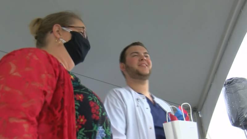 Northwest-Shoals Community College held its pinning ceremony for the nursing program.