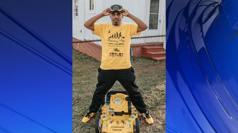Rodney Smith Jr., Alabama's lawn mowing man, raising awareness on childhood cancer