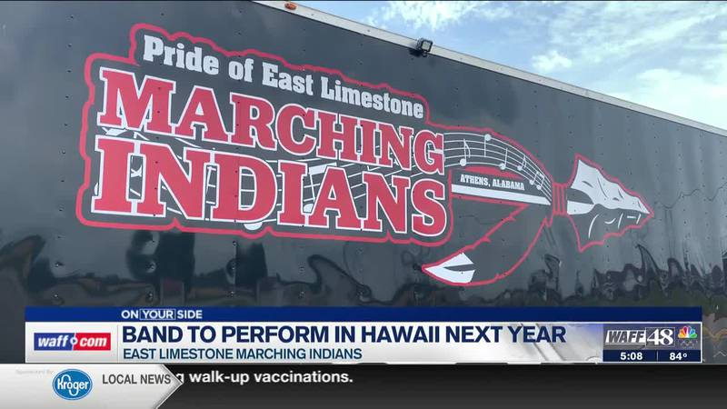 Help the East Limestone Indians march in Hawaii