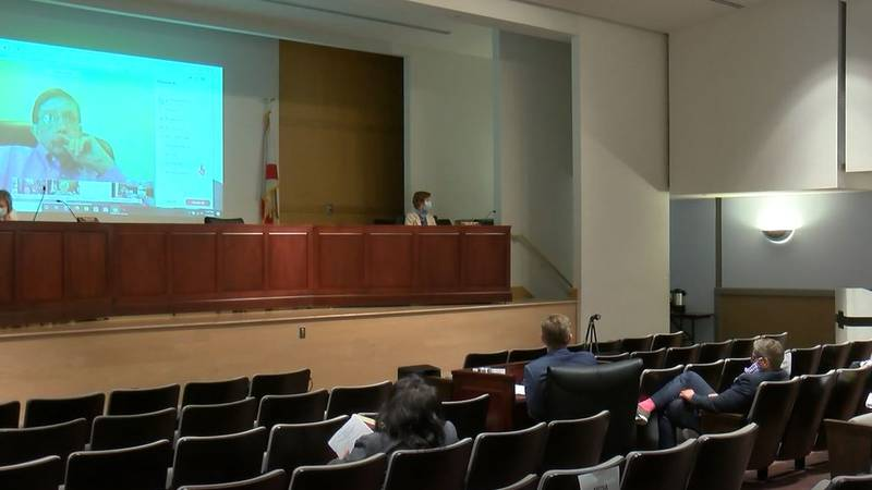 The Alabama state school board met Tuesday to discuss the school reopening plan.