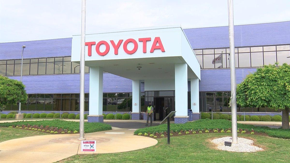 Toyota engine plant in Huntsville