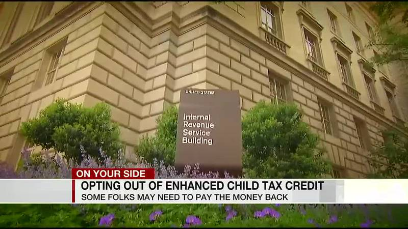 Opting out of enhanced child tax credit