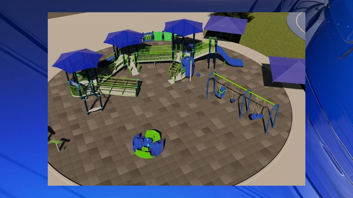 Rotary club of the Shoals announces opening of playground for special needs children