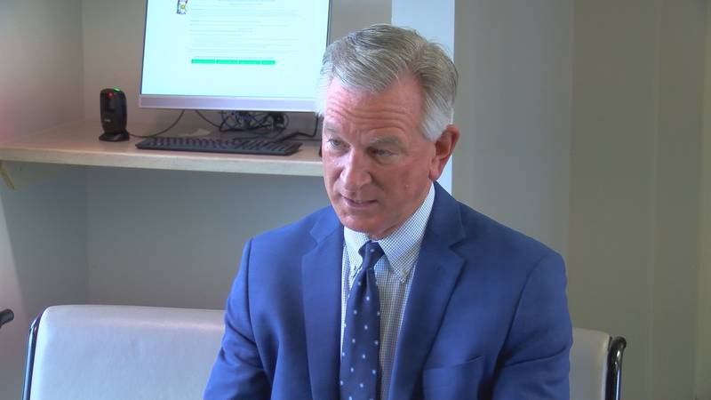 Senator Tuberville is a member of the Armed Services Committee, and he wants to see what...