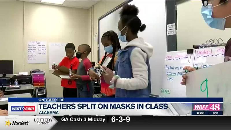 Alabama teachers remain split on masking