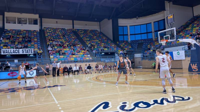 North Alabama High Schools compete at the AHSAA Northwest Regional at Tom Drake Coliseum on the...