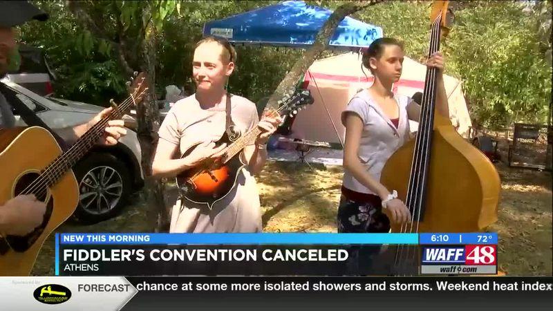 Fiddler's convention canceled