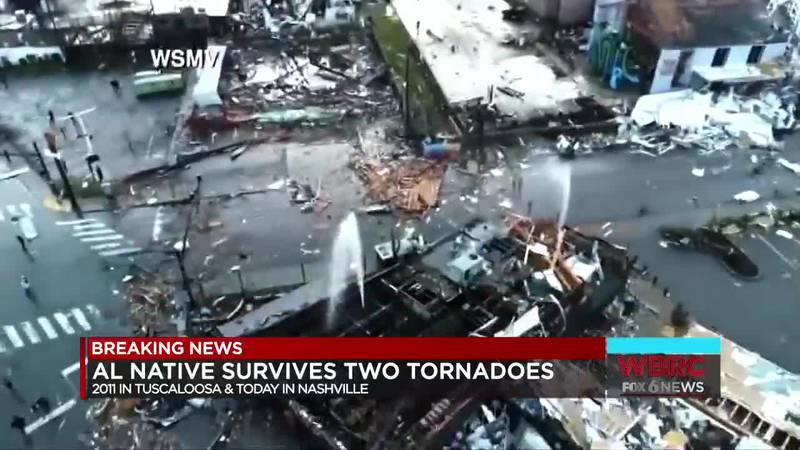 AL native survives two tornadoes