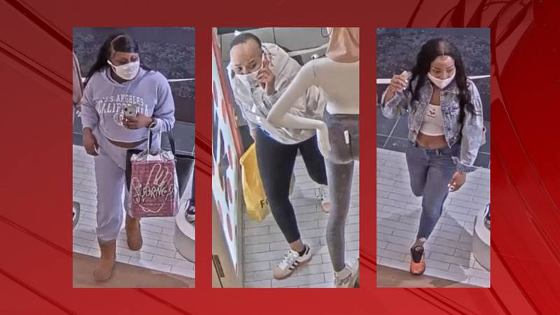 Three suspects wanted for stealing from Victoria's Secret