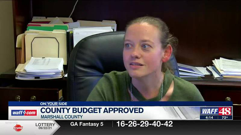 Marshall County Budget approved