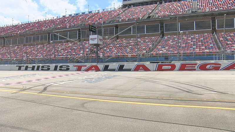 Talladega Superspeedway spoke out Friday for the first time after NASCAR banned the Confederate...