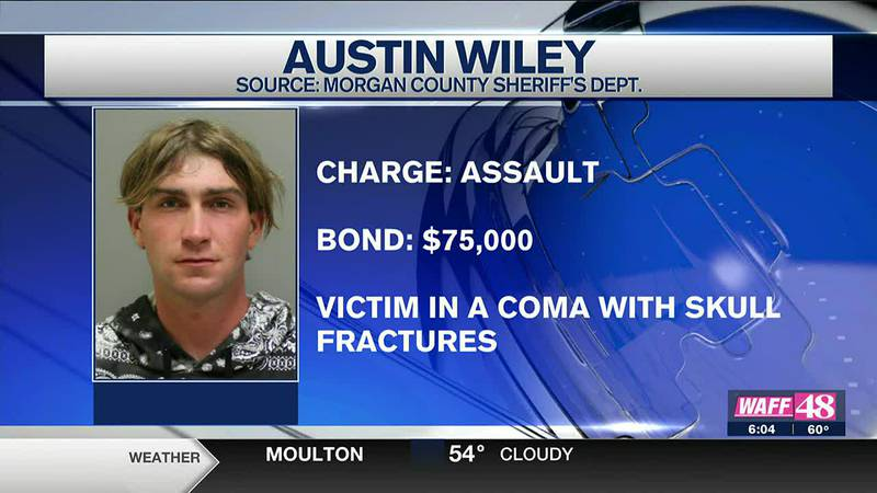 A man has been arrested after police say he assaulted a man so bad that the man is in a coma.