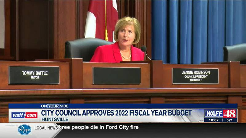 City council approves 2022 fiscal year budget