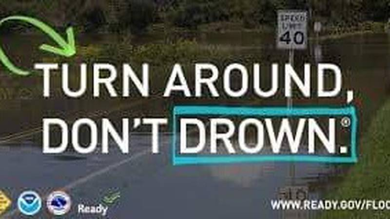The Morgan County Sheriff's Office is reporting flooded roadways in Morgan County.
