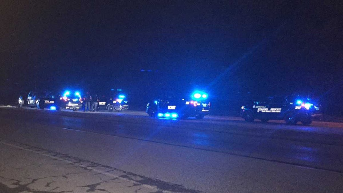 A high speed chase that began in Vestavia ends in a crash just off I-20/59 in Fairfield....