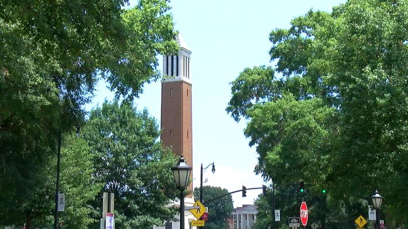 Denny Chimes at the University of Alabama in Tuscaloosa