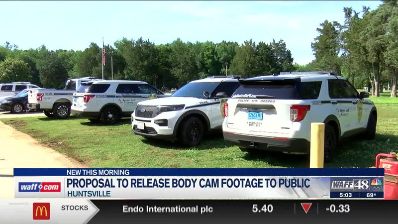Proposal to release Huntsville body cam footage to public