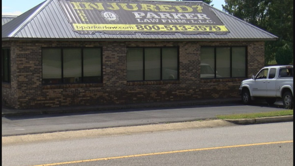 The law firm of Brent Parker is located in Grant.