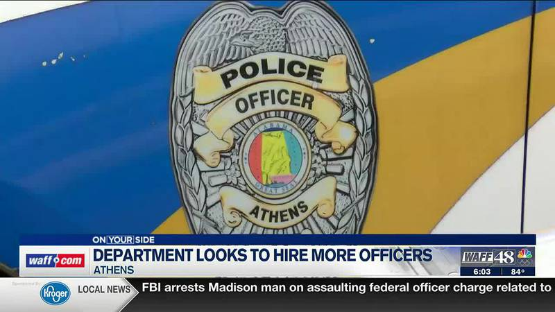The Athens Police Department is looking to hire more officers