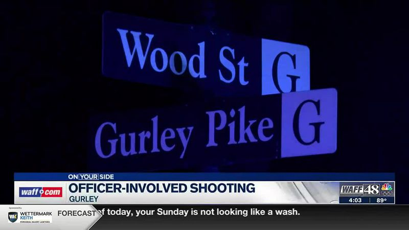 Investigation continues in Gurley after an officer-involved shooting