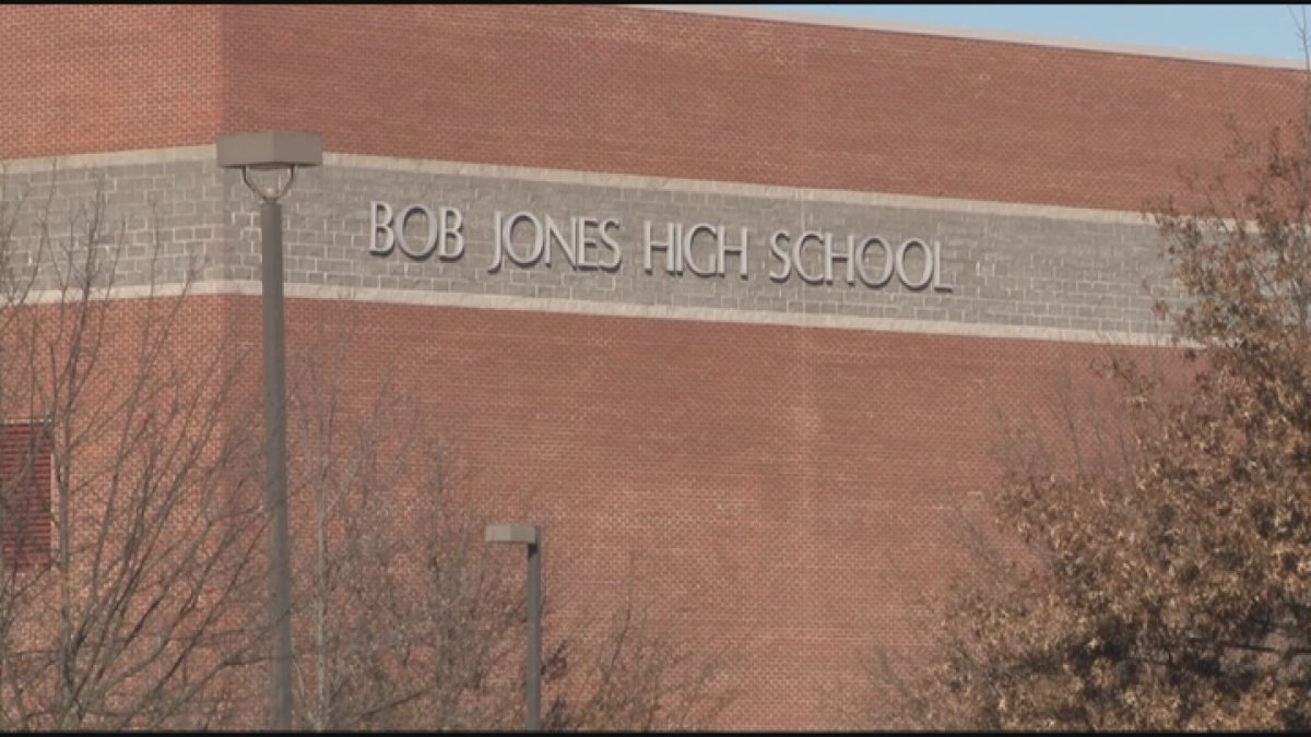 Bob Jones High School teacher Kent Chambers donated his stimulus check to help students and...